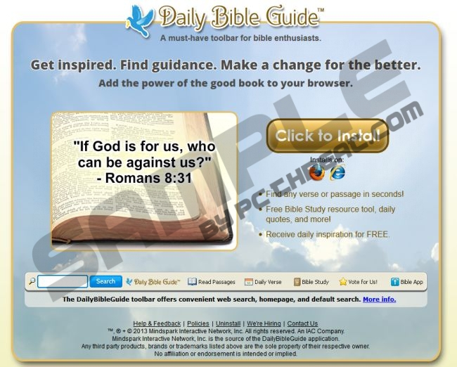 Remove Daily Bible Guide