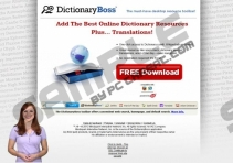 DictionaryBoss Toolbar