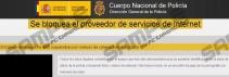Se bloquea el proveedor de servicios de internet virus