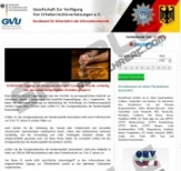 Bundesamt für sicherheit in der informationstechnik virus