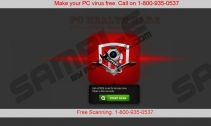 PC Health Care: Online Virus Scan System