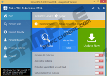 Sirius Win 8 Antispyware 2014