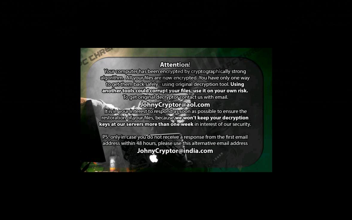 Remove JohnyCryptor Ransomware