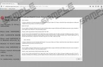 Fake warning (800)-794-3298