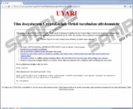 Uyari Ransomware