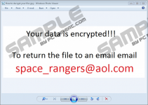 Space_rangers@aol.com Ransomware