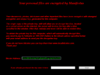 Manifestus Ransomware
