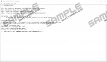 Mole03 Ransomware