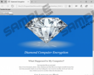 Diamond Computer Encryption Ransomware