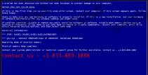 +1-833-889-1888 BSOD Fake Message