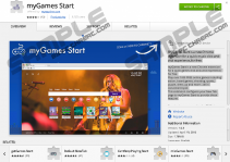 myGames Start Extension