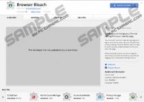 Browser Bleach