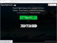 QuickFlightTracker Toolbar