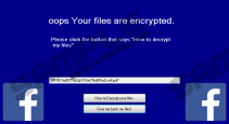 Facebook Ransomware