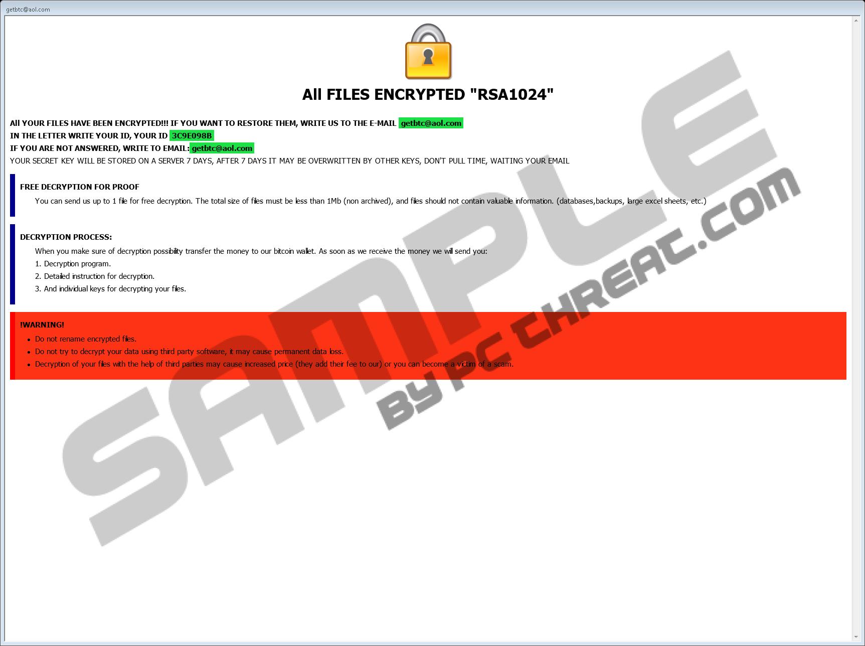 Remove Q1G Ransomware