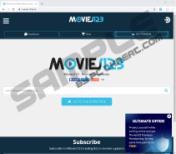 Movies123 Ads