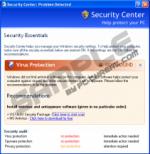 System Center: Problem Detected pop up